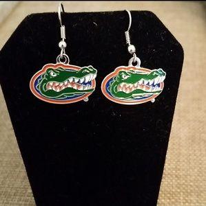University of Florida Gators earrings